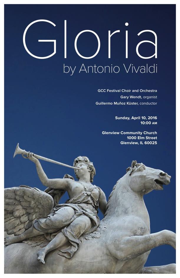 Vivaldi Gloria Poster v3